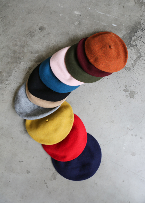 MOOD WOOL BERET(13 COLORS!)