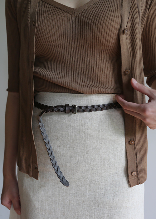 TWIST BELT(CAMEL, BROWN, BLACK 3COLORS!)
