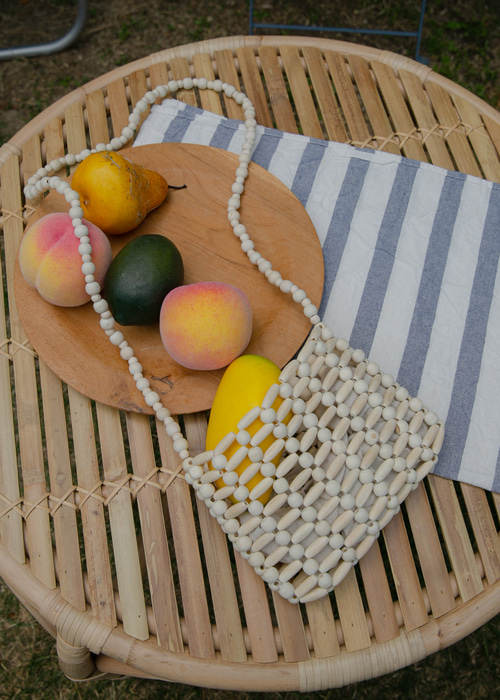 SUMMER WOODEN BAG