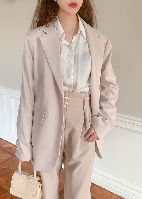 FORMAL OVERSIZE POCKET JACKET(IVORY, MOCHA, BLACK 3COLORS!)