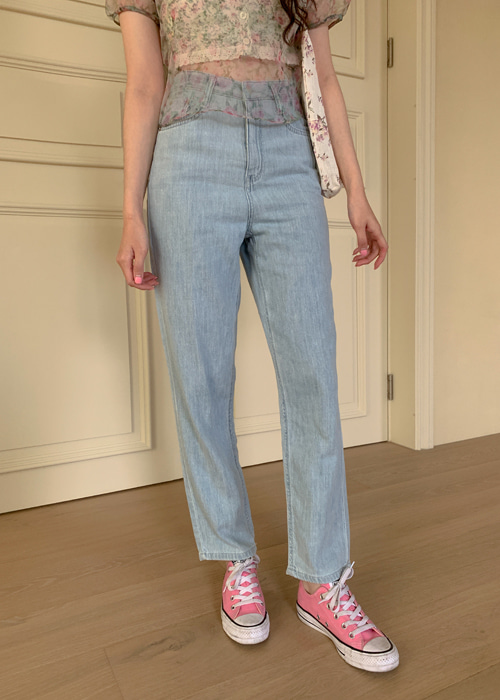COOL ROUGH WASING DENIM PANTS