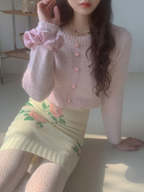 ROSE CROP KNIT