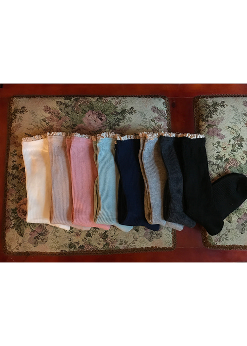 LACE WARM SOCKS(8COLORS!)