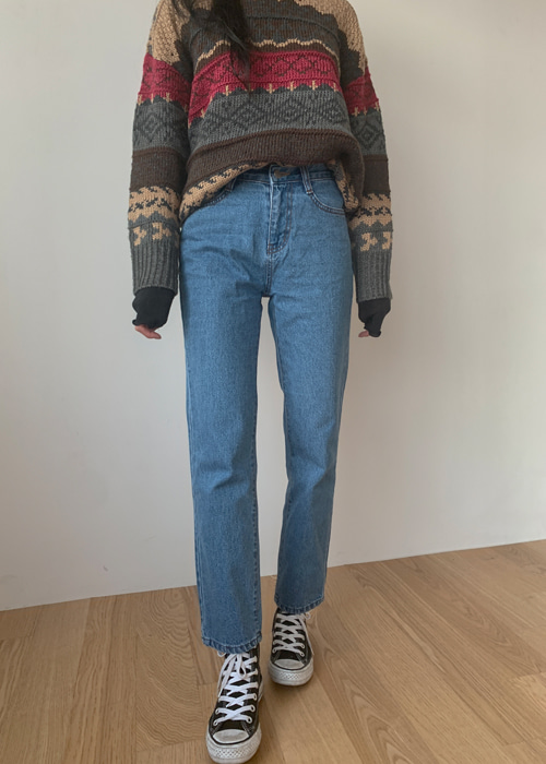 70'S STRAIGHT DENIM PANTS(LIGHT WASH, MEDIUM WASH, DARK WASH, GREY WASH, BLACK WASH 5COLOS!)