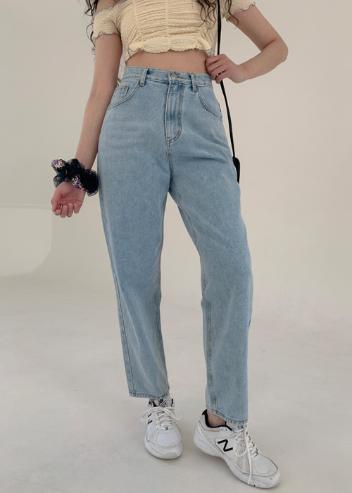 LOOSE FIT DENIM PANTS
