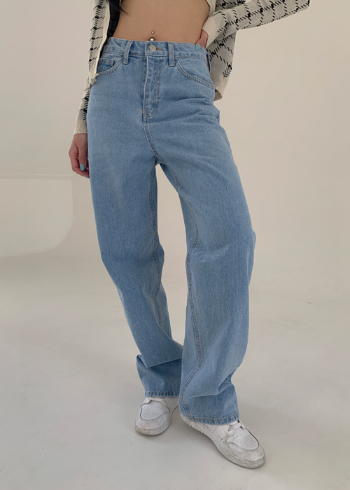 BOY FIT DENIM WIDE PANTS(LIGHT WASH, DARK WASH 2COLORS!)