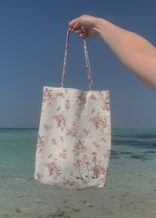 VINTAGE FLORAL EMBROIDERY BAG