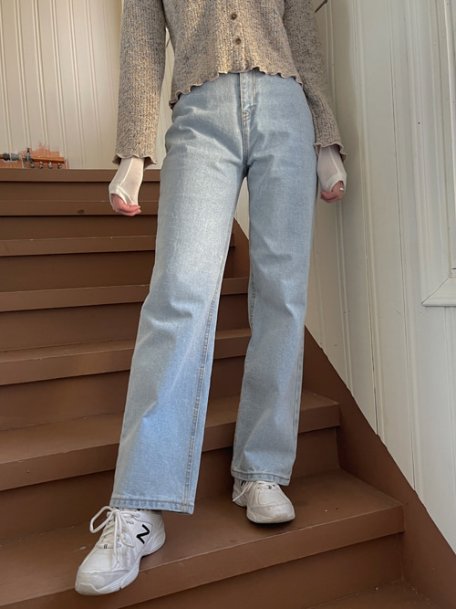 90'S ALICE WIDE DENIM PANTS(LIGHT WASH, BLUE WASH, BLACK WASH 3COLORS!)