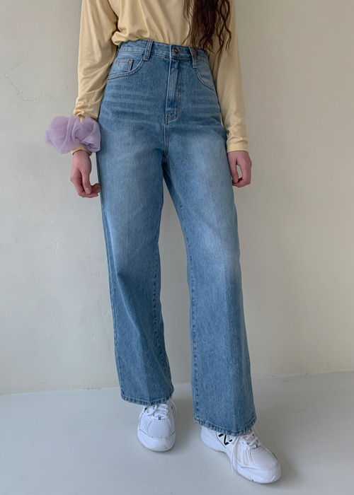 90'S DENIM STRAIGHT WIDE JEAN