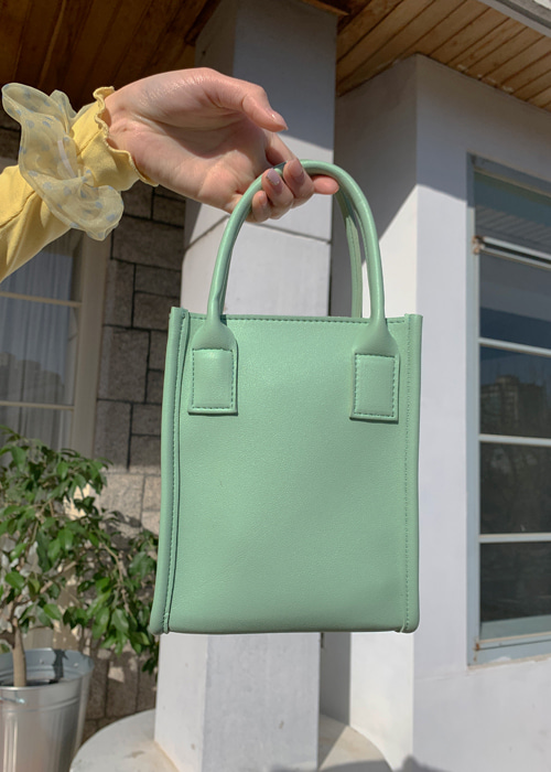 LONI BAG(BEIGE, YELLOW, ORANGE, MINT, BLACK 5COLORS!)