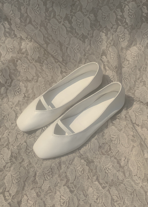 AILEEN FLAT SHOES(WHITE, BEIGE, BROWN, MOCHA, BLACK 5COLORS!)