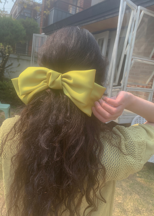 SAVANNAH RIBBON HAIR PIN(13COLORS!)