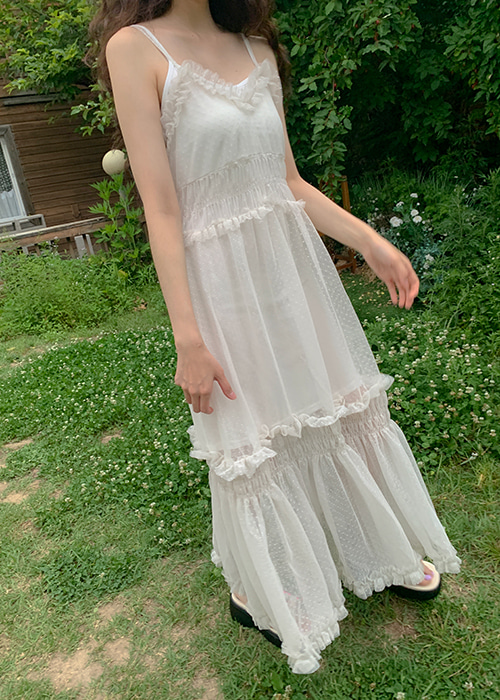 ALICE MESH LACE DRESS