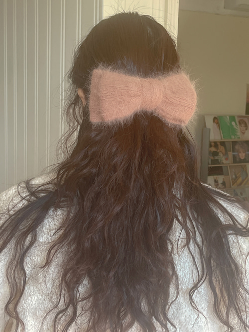 ANGORA RIBBON PIN(14COLORS!)